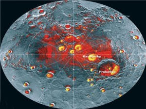 Gheaţă pe Mercur. Dar şi materii organice?