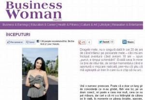 După Ştefan Bănică Jr, Andreea Marin renunţă şi la Business Woman