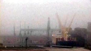 Ceaţa închide porturile de la Marea Neagră