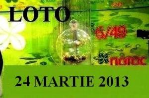 LOTO, 24 martie 2013: Numerele Loto 6/49, Joker şi Noroc sport