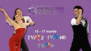 Campionatul Mondial de Patinaj Artistic 2013: program si transmisiuni sport
