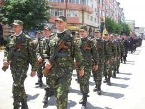 militari defilare Targoviste