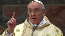 Papa Francisc, în drum spre Brazilia