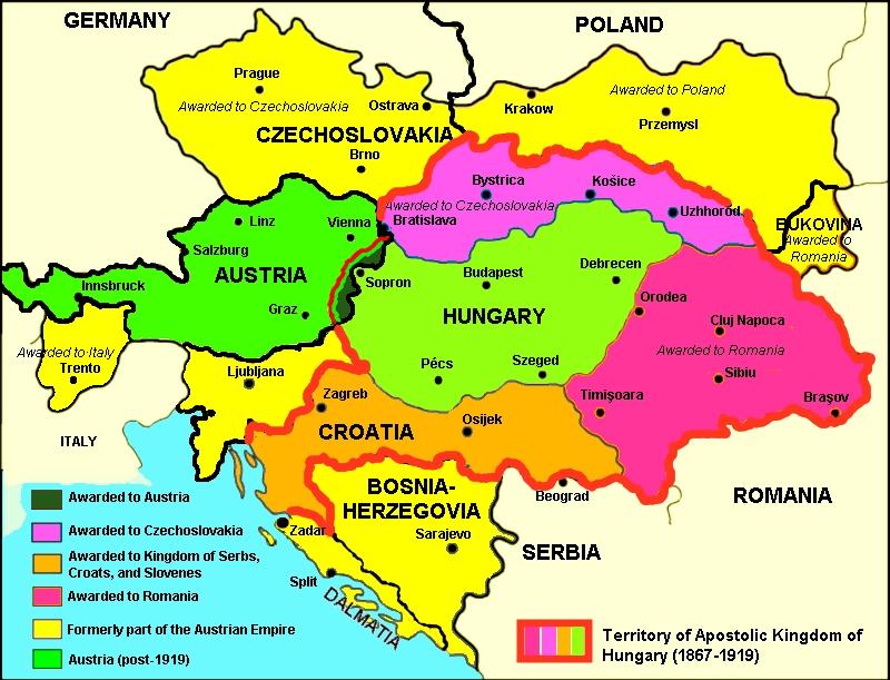 Tratatul de la Trianon. Mesajul MAE la a 93-a aniversare | Ziua Veche