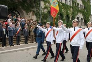 """Deschiderea anului şcolar la Colegiul Militar Liceal """"Dimitrie Cantemir"""""""
