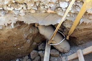 Galaţi. Bombă de aviaţie de 100 de kg detonată la faţa locului