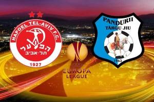 Europa League: Hapoel Tel Aviv - Pandurii Tg. Jiu