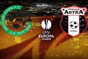 Europa League: Maccabi Haifa - Astra