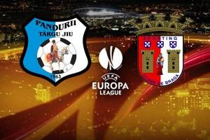 Europa League: Pandurii - SC Braga (live video)