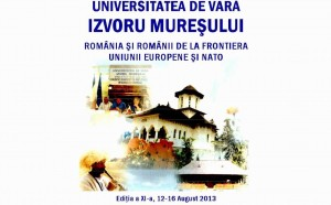 Renirea Basarabiei, la Universitatea de Vară Izvoru Mureşului