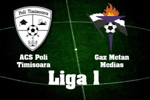 Liga I, etapa 3: ACS Poli Timişoara - Gaz Metan Mediaş, scor 2-1