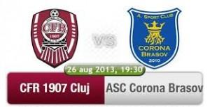 Liga I, etapa 6. CFR Cluj - Corona Brasov