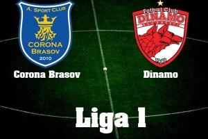 Fotbal - Liga I: Corona Braşov - Dinamo 1-1