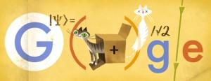 Pisica lui Erwin Schrödinger - 126 de ani de la  naşterea lui Erwin Schrödinger
