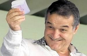 Gigi Becali a găsit 1.000 de euro. Anchetă la Jilava