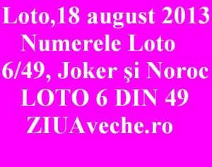 Numerele Loto 6/49, Joker şi Noroc