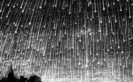 Perseidele - ploaie de stele. Luni noapte, spectacol pe cer