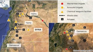 Operaţiune militară în Siria. Cele mai probabile ţinte