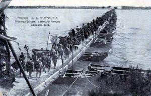 Al doilea razboi Balcanic - Armata Romana traverseaza Dunarea la Zimnicea