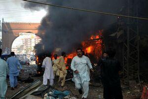 Atentat cu bomba in Peshawar