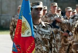 Batalionul 191 Infanterie, decorat cu Ordinul Virtutea Militară, în grad de cavaler