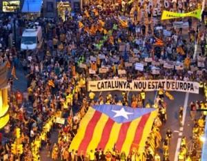 Guvernul spaniol refuză referendumul de independeţă a Cataloniei