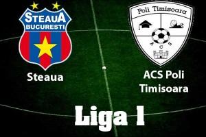 Liga I, etapa 9. Steaua - ACS Poli Timisoara