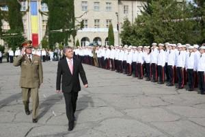"Mircea Duşa, la Colegiul Militar Liceal ""Dimitrie Cantemir"""