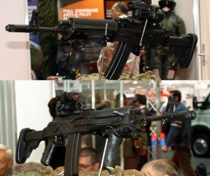Expomil 2013. Arma românească de asalt cal 5.56 mm
