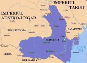Romania in 1913