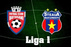 Liga I, etapa 8. FC Botosani - Steaua (live video)