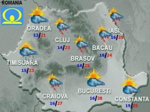 Meteo. Cum va fi vremea joi şi vineri în ţară şi în Bucureşti