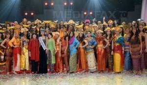 Miss World 2013, fără costume de baie (foto mediafax.ro)
