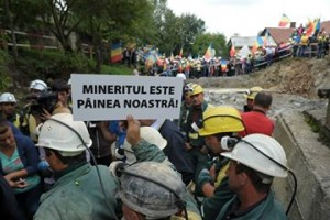 proteste mineri rosia montana