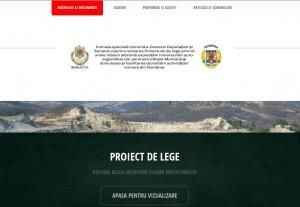 Comisia specială pentru Roşia Montană a are site special