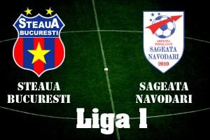 Liga I, etapa 7: Steaua – Sǎgeata Nǎvodari