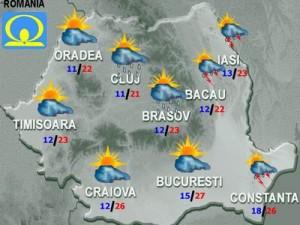 Meteo. Cum va fi vremea vineri, în ţară şi la Bucureşti