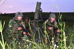 Exerciţiu comun. Militari din Republica Moldova, în România