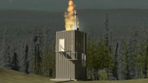 Baterie  de rachete interceptoare Standard Missile-3 Block IB care vor fi amplasate la Deveselu