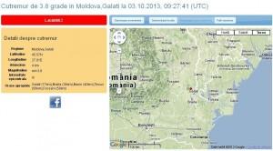 Un nou seism. Protest la Izvoarele-Galaţi. S-au săturat de cutremure