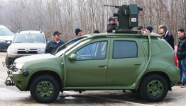 Test drive cu Dacia Duster Army