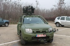 Test drive Dacia Duster Army