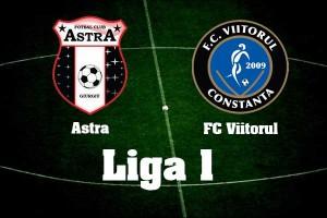 Liga I, etapa 18: Astra Giurgiu – FC Viitorul