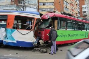 Accident grav cu tramvaie la Iaşi