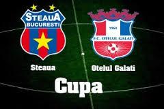Cupa Romaniei: Steaua - Otelul Galati, scor 2-0