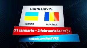 Cupa Davis: Ucraina - România, în direct la TVR