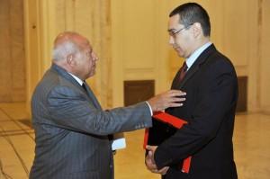 Dan Voiculescu și Victor Ponta