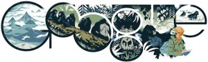 Dian Fossey, celebrata de Google la 82 de ani de la naştere