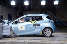 Renault Zoe, testată la Euroncap