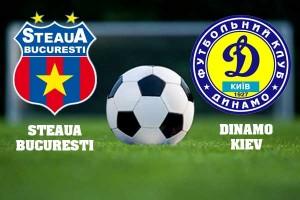Meci amical: Steaua - Dinamo Kiev